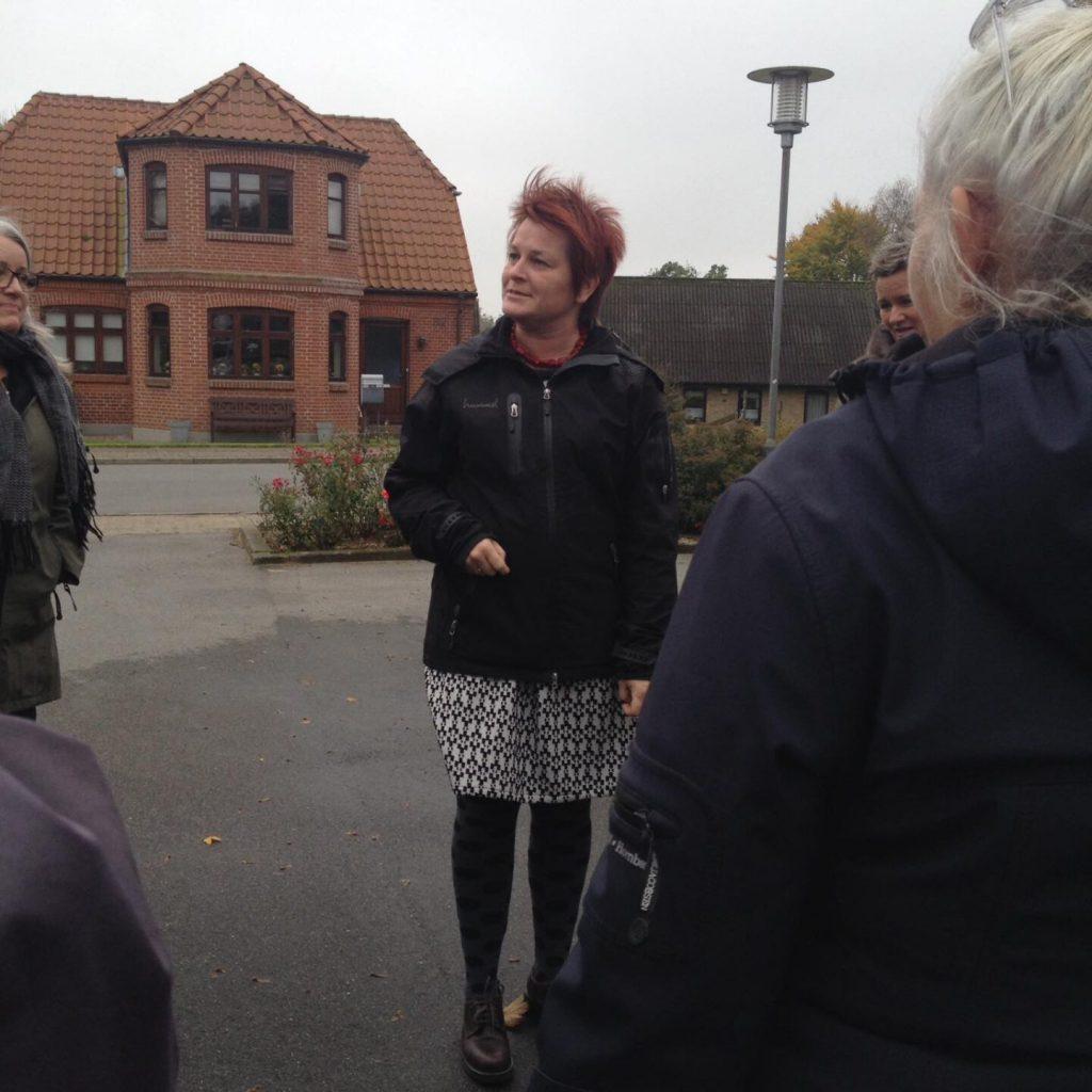 Sanne Pedersen fortæller om Landsby på prøve