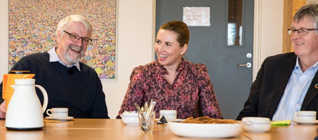 Statsminister Mette Frederiksen besøger Sønderborg mini billede